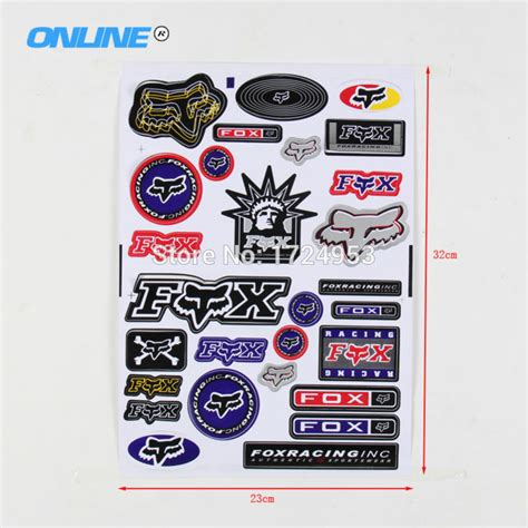 Fahrrad Aufkleber Fox by Fox Dirt Bike Stickers Reviews Shopping Fox Dirt