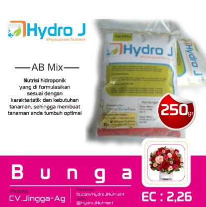 Pupuk Ab Mix Bunga nutrisi ab mix bunga jual tanaman hias