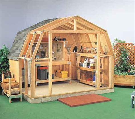 Barn Shed Plans by Gambrel Roof Sheds Plans Review Gambrel Roof Sheds Plans