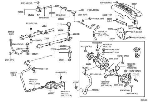 2000 Toyota Tundra Parts 2000 Toyota Tundra Fuel Injection System