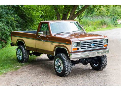 de truck 4x4 1985 ford f250 4x4 for sale classiccars com cc