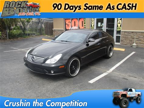 2007 mercedes cls550 for sale mercedes cls 550 in florida for sale used cars on