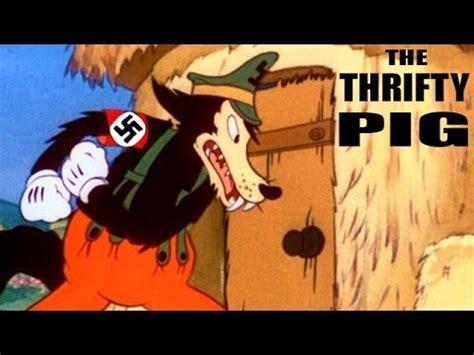 film disney hitler the thrifty pig 1941 ww2 era cartoon youtube