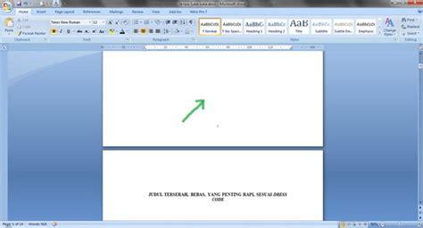 format gambar yang didukung oleh blender menomori halaman beda format dan beda posisi caranya
