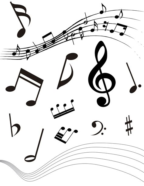 imagenes png musica notas musicales png imagui
