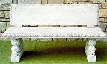 panchine da interno tavoli e panche in cemento da giardino per interno ed