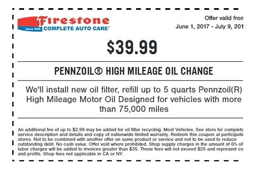 high mileage oil coupon