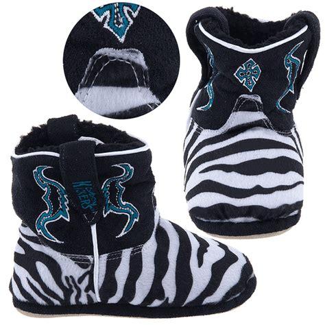 Kickers Zebra cowboy kickers zebra print slippers for infants toddlers