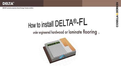DELTA FL   premium subfloor for laminate flooring in