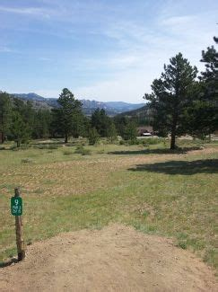 ymca of the rockies in estes park, co disc golf course