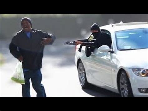 dive by mexican cartel drive by shooting prank wrong
