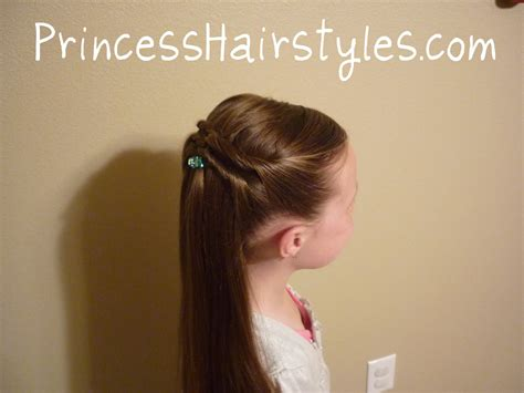 hairstyles for girls princess hairstyles a quick and easy twisty hairdo hairstyles for girls