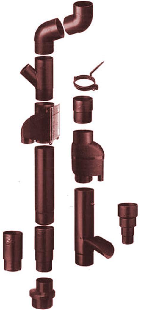 Geruchsverschluss Fallrohr Kunststoff by Fallrohr Dachrinne Mit Dem Richtigen Durchmesser Montieren