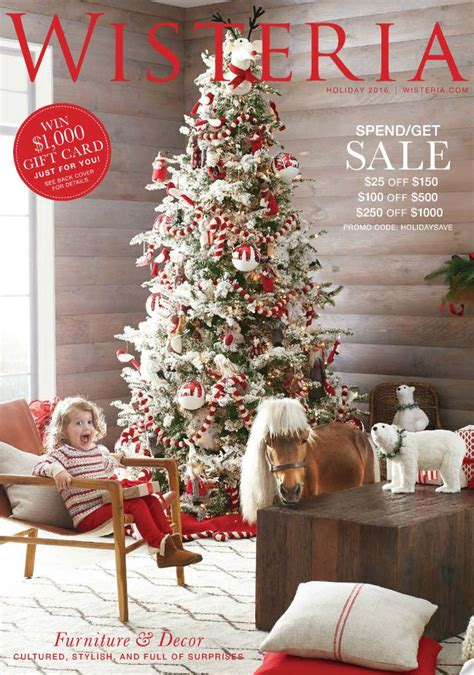 Wisteria Home Decor Catalog | 30 free home decor catalogs you can get in the mail