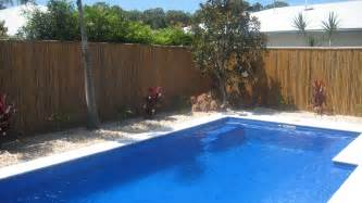Pool Landscaping Ideas Queensland Ilandscape Products Bamboo Projects Fence Around