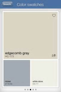 edgecomb gray common areas colors pinterest