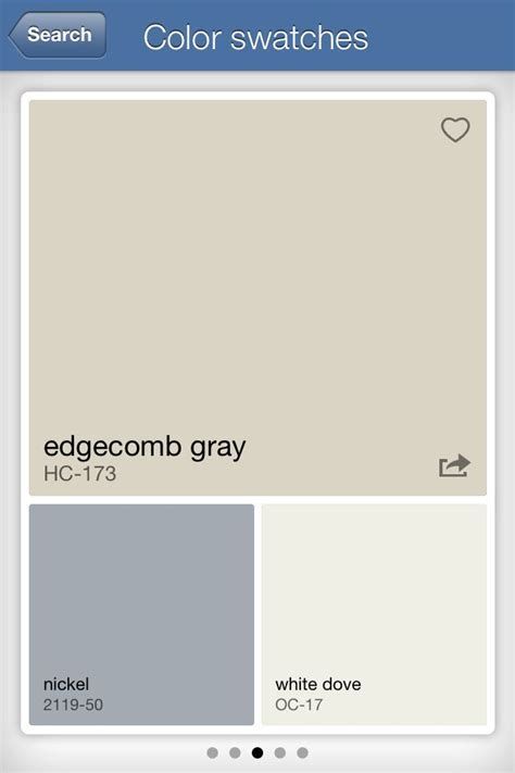 colors that goes with grey edgecomb gray common areas our house pinterest