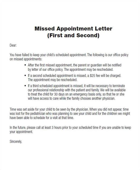 Sle Patient Letter Missed Appointment Appointment Letter For Hospital Staff 28 Images Appointment Letter Format For Hospital Staff