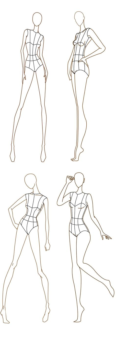illustrator clothing templates free fashion design templates more here http