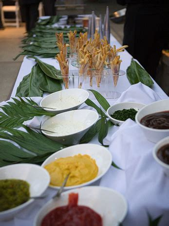 french fry bar toppings wedding food bars rooted in love