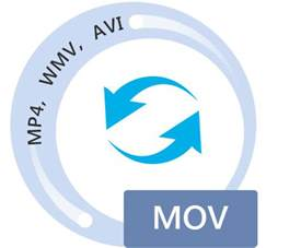 mov converter convert mov to mp4/avi/wmv, etc. or reverse