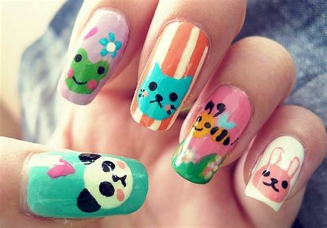 imagenes de uñas decoradas juveniles faciles u 241 as decoradas tendencias para 2016 con fotos