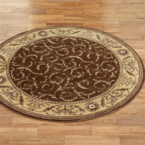 Circular Rugs Somerset Scroll Rugs