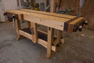 build a woodworking bench woodworking the samurai workbench