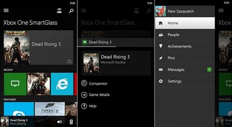 xbox one smartglass apk xbox one smartglass beta for windows phone updated with better feedback tools more