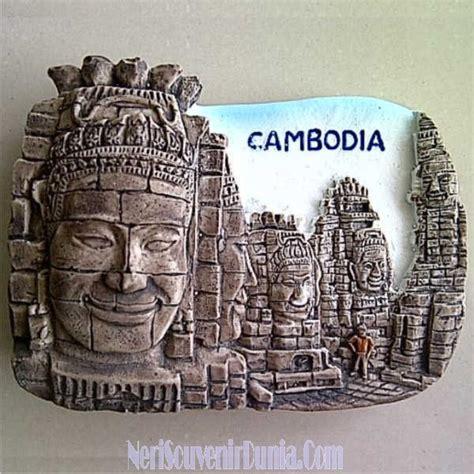 Mancanegara Magnet Kulkas Souvenir Laos jual souvenir magnet kulkas kamboja