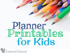 printable for toddlers planner printables for