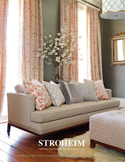 Beige And Pink Curtains Decorating Stroheim On Trend And In The Pink Stonemill