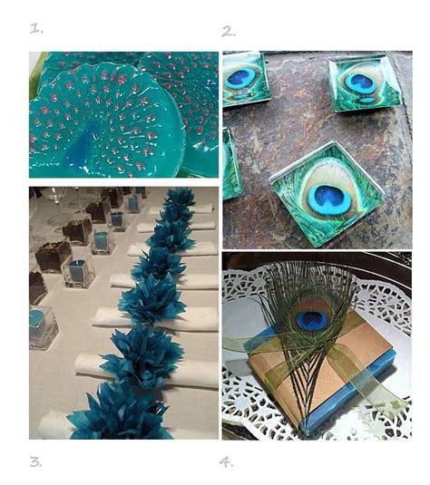 Peacock Favor Ideas peacock wedding favor ideas