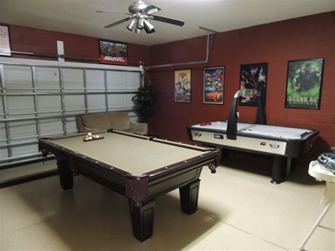 turn garage into game room large and beautiful photos 2 wired 2 tired travels global resort homes review