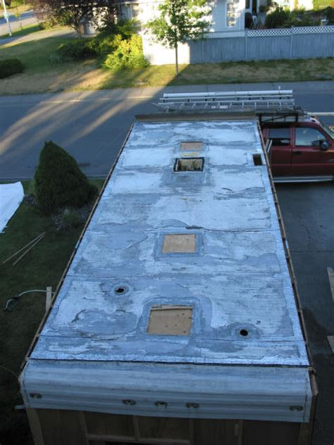 Travel Trailer Ceiling Repair by Travel Trailer Roof Replacement Smalltowndjs