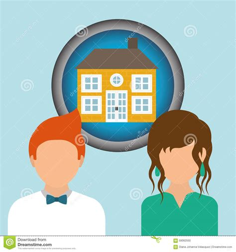 digital design house house design stock vector image 59062550
