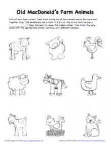 peek boo farm animals activity free printable buggy buddy