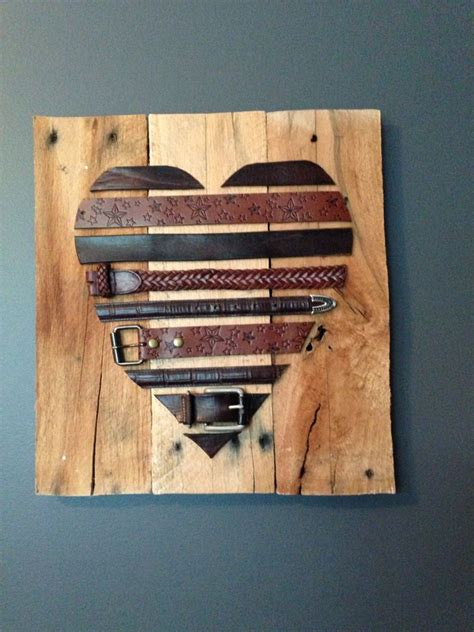 Wedding Anniversary Gift Leather by Leather Belts And Pallets 3 Year Wedding Anniversary