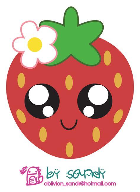 imagenes de fresas kawaii kawaii ichigo by sandy oblivion on deviantart