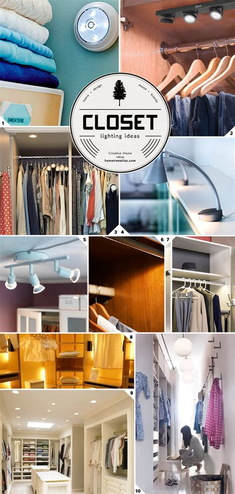 closet lighting ideas closet lighting ideas from wireless to walk in home