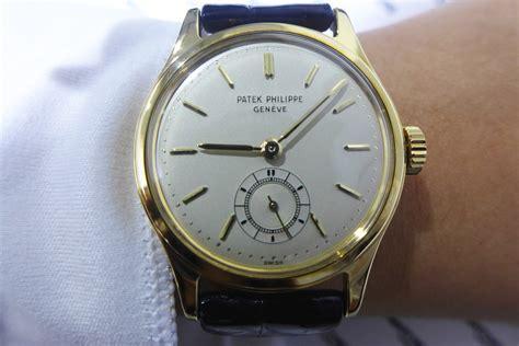 patek calatrava 2451 yellow gold luxury watches for sale