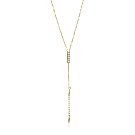 Bar Lariat Necklace ingenious gold lariat necklace with vertical pave bar