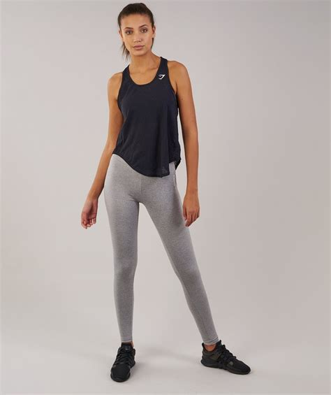 gymshark aura vest black