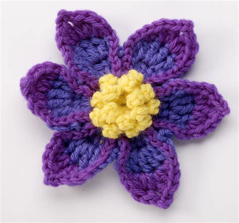 flower pattern of crochet crochet flower pattern teesprung