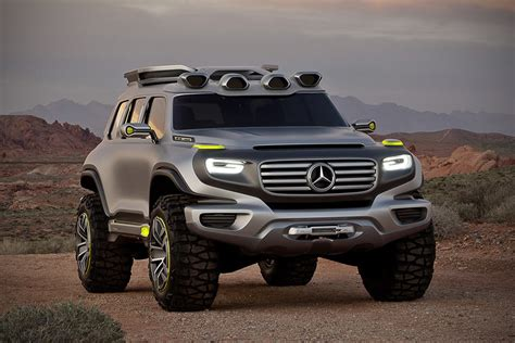 Mercedes Benz Ener G Force Concept SUV   MIKESHOUTS