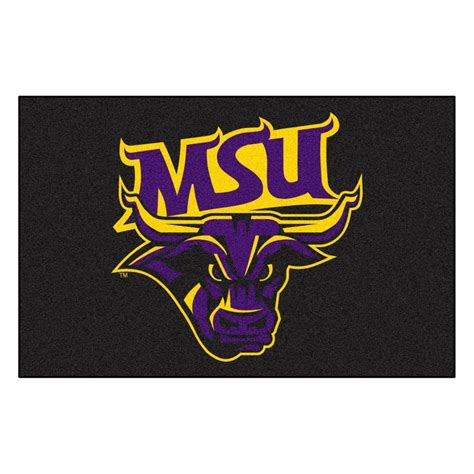 fanmats ncaa minnesota state mankato black 1 ft