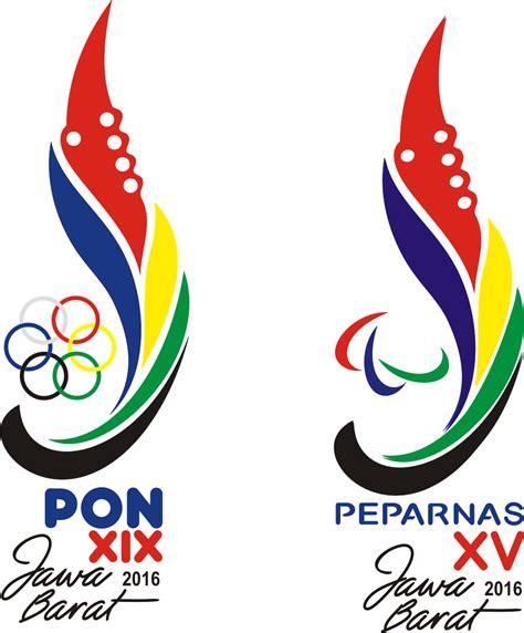 Logo Jawa Barat Bordir logo pon xix 2016 jawa barat vector cdr ardi la madi s