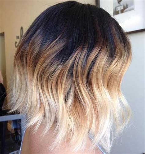 ombre hair over 50 amazing ombre colored short hairstyles you must see
