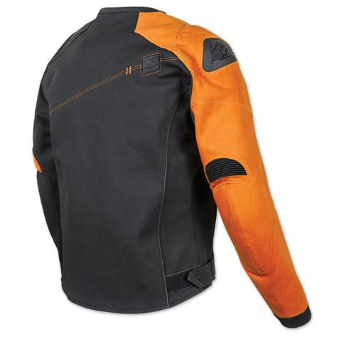 speed and strength light speed jacket speed and strength men s lightspeed black orange textile