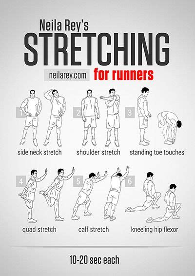 17 best ideas about stretches before running on
